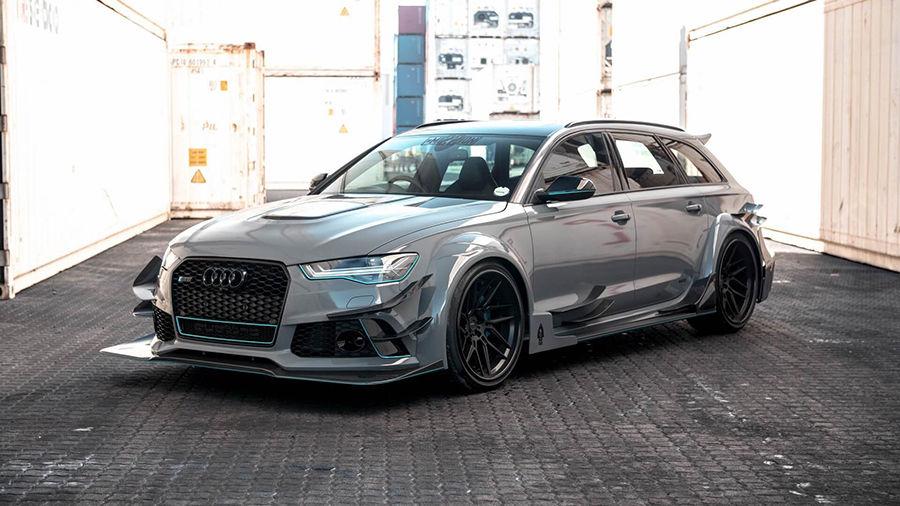 覺得Audi的外觀太過低調?Race!用這輛RS6 Avant證明這種觀念錯很大!