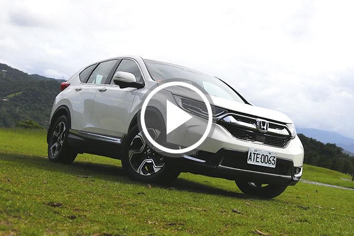 銷售登基 Honda CR-V果真有Sense?