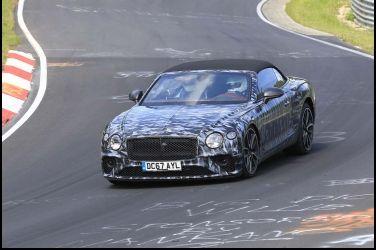 最大級敞篷跑車Bentley Continental GTC