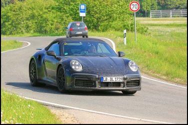 最狂敞篷Porsche 911 Turbo Cabriolet