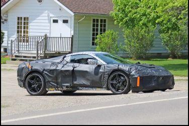 改MR底盤配置Chevrolet Corvette MR