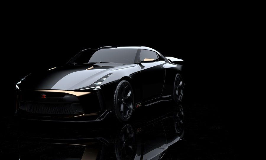 Nissan與Italdesign發表限量GT-R50原型車