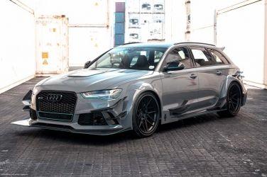當Audi RS6遇上DTM寬體 在南非也可以當心靈車手