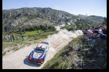 無懼賽道凶險!WRC葡萄牙站雙料冠軍 HYUNDAI廠隊勇奪分站及車手第一名