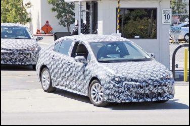 下一代神車長這樣  Toyota Corolla