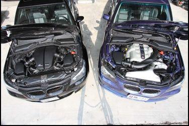 Alpina B5 vs. BMW M5  E60最強車款對決(2/3)動力篇