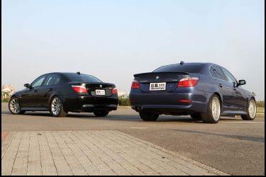 Alpina B5 vs. BMW M5  E60最強車款對決(3/3)試駕篇