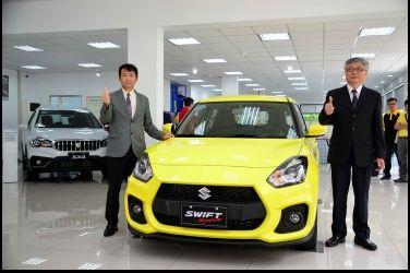 TAIWAN SUZUKI桃園銷售展示中心  全新落成   新銳跑格小車SWIFT Sport同步亮相  引發搶購熱潮