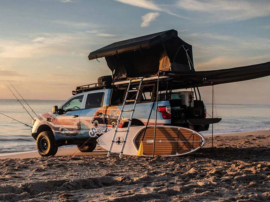 Nissan打造的Titan Surfcamp能讓整個海灘變成你的遊樂場!