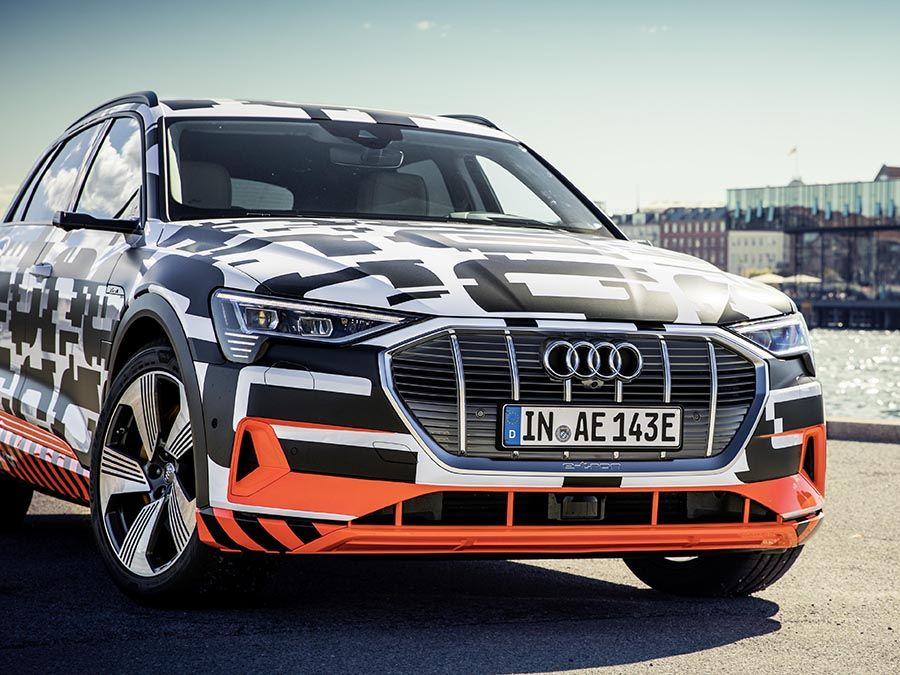 (影音)Audi E-Tron沒後視鏡要怎麼開呀?