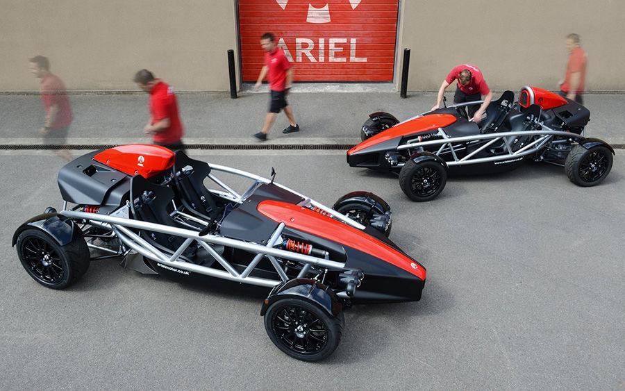 四代Ariel Atom現身!換上Honda Civic Type R渦輪動力!