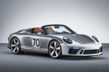 911 Speedster概念車、純電車Taycan正式定名