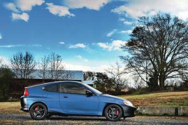 不要跟我講環保  我就是要Power  Honda Insight改3.5L V6渦輪啦!!