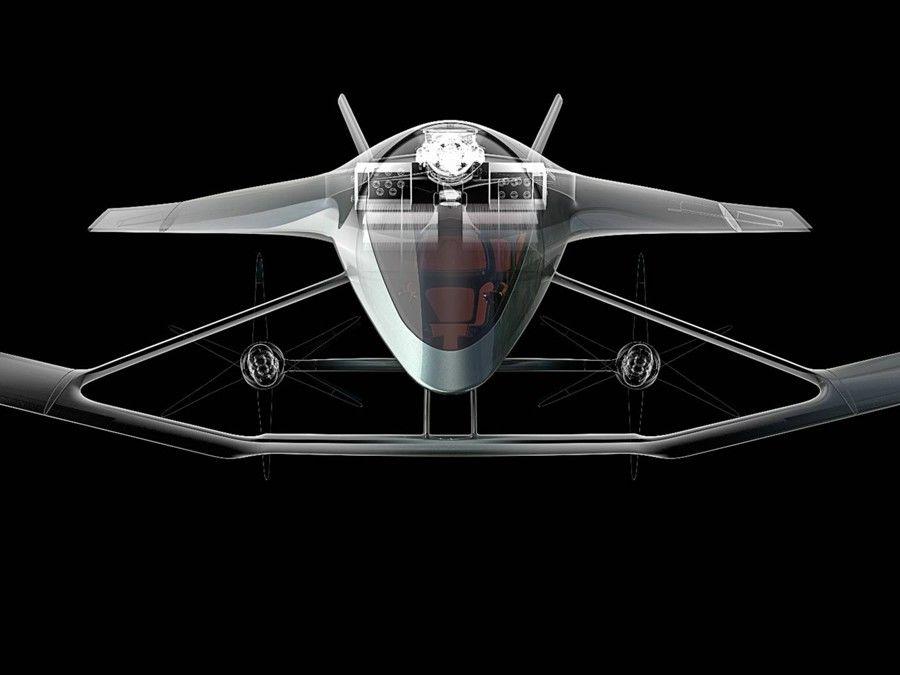 Aston Martin推出一架新的概念…「飛機」?