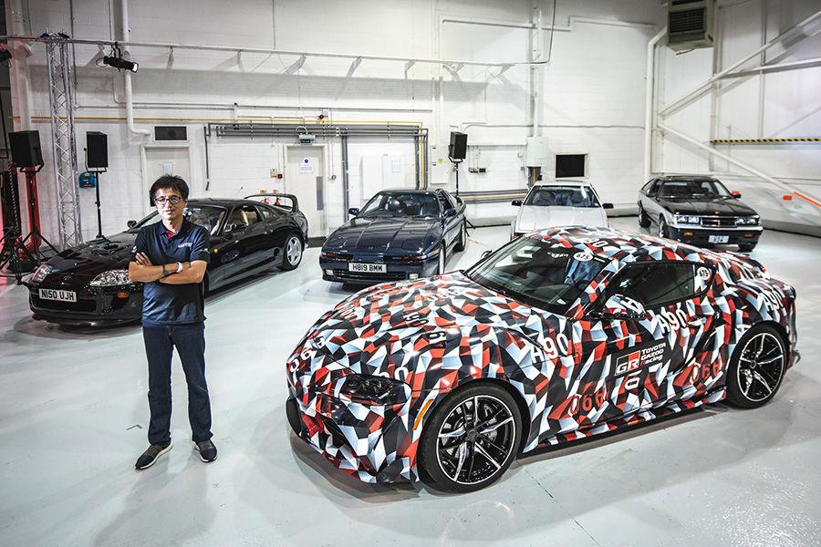 Toyota Supra超級VIP神秘活動!五個世代車款首度同台!
