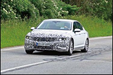 換上Arteon的臉龐VW Passat 小改款