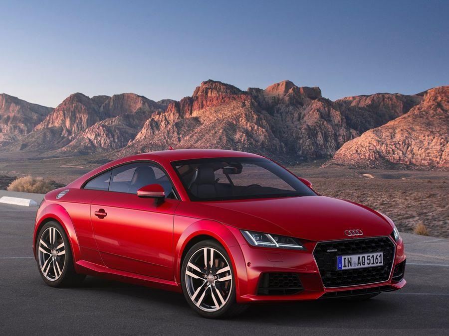 只有微整形!Audi推出小改款TT
