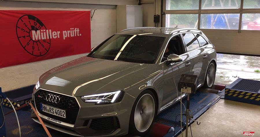 (影音)Audi RS4旅行車7分鐘跑完紐伯林!比R8超跑還快!