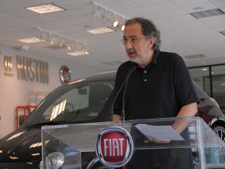 FCA執行長Sergio Marchionne因手術併發症過世 享壽66歲