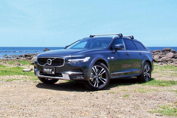 大吹越野旅行風    Volvo V90 Cross Country D5 Pro