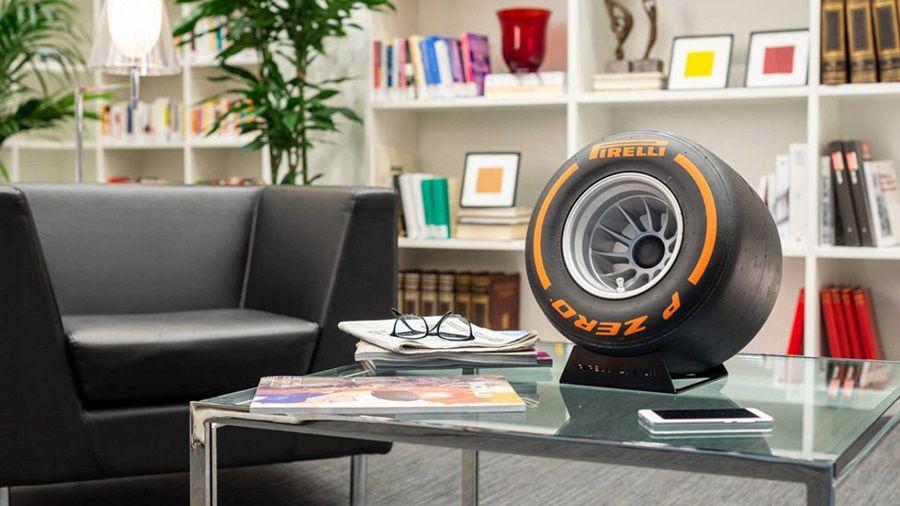 發燒車迷與音響迷都要敗!倍耐力推出F1輪胎造型藍芽喇叭