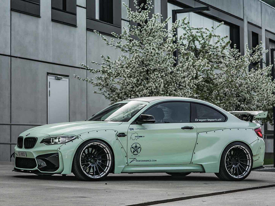 德式凶狠!Zacoe Performance替BMW M2設計一套殺氣騰騰的寬體外衣