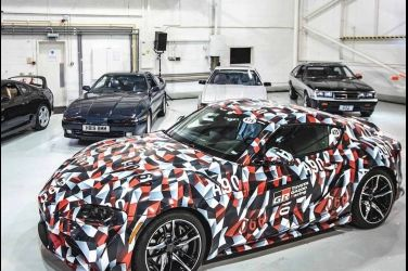 傳奇歸來 全新Toyota Supra在Goodwood帥氣登場