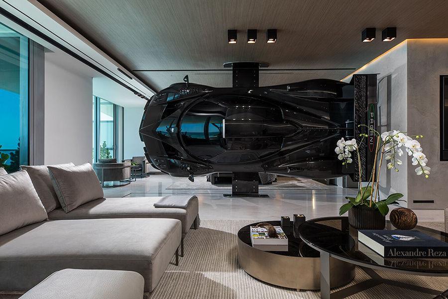 2.5億豪宅用 Pagani超跑當隔牆?剛好而已啦!