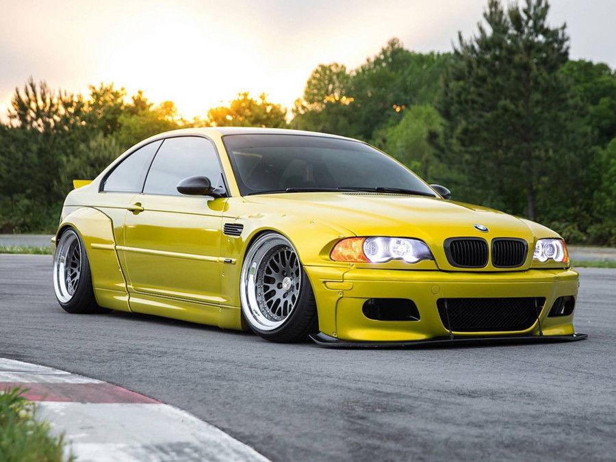 擁有超寬車體的E46 M3,身為BMW狂熱粉絲的你買單嗎?