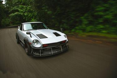 什麼料都沒有,那就瞎搞吧!!   LS1 V8 Supercharged Datsun 280 Z