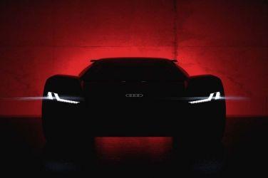 Audi PB 18 e-tron 純電動概念超跑圓石灘車展全球首演
