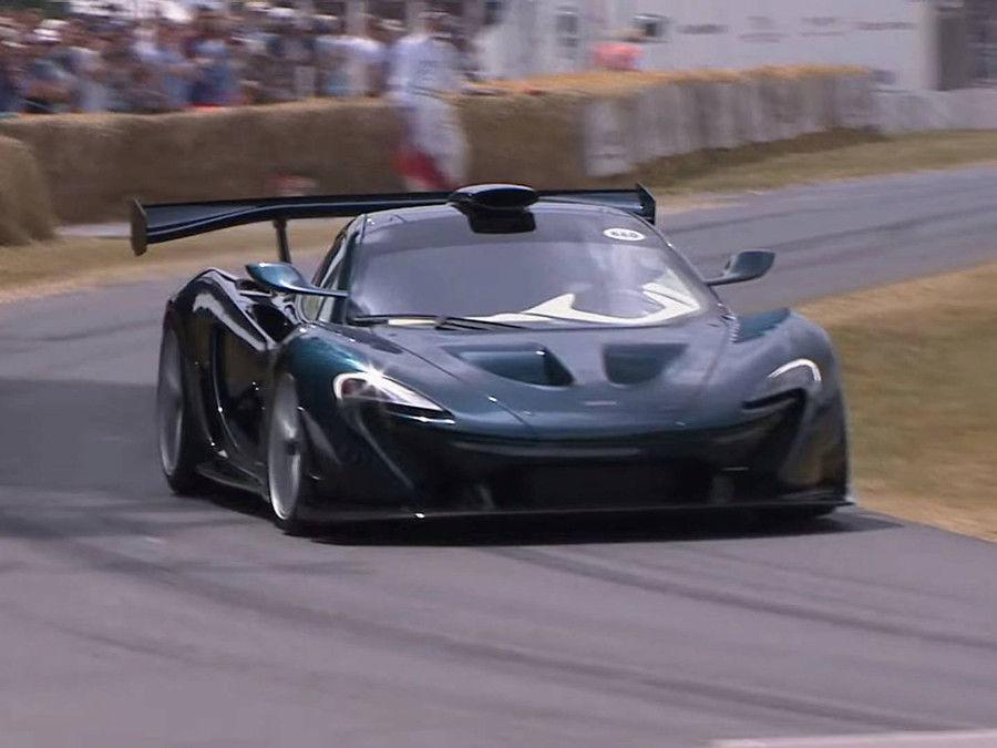 殺氣十足!Lanzante在速度嘉年華會發表McLaren P1 GT!