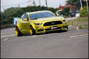 維大力也有幫改車?LB Performance x Ford Mustang
