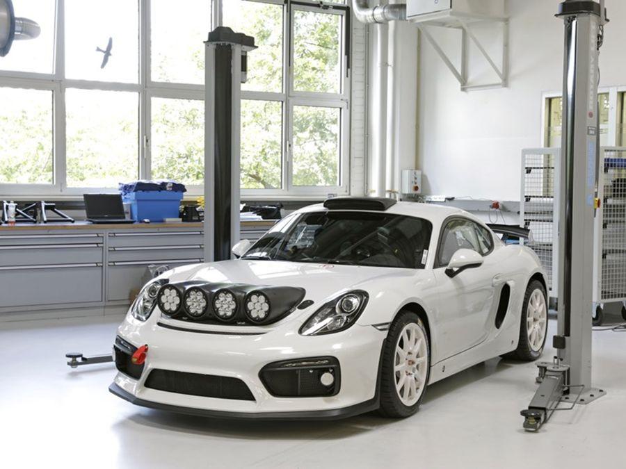 為量產試水溫?保時捷發表Cayman GT4 Clubsport Rallye Concept