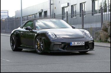 直接全都露Porsche 911 GT3 Cabriolet