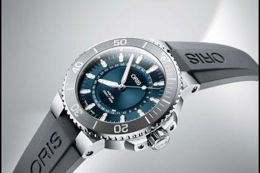 以萊茵河為發想Oris生命之源限量腕錶