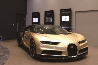 最強車王  Bugatti Chiron