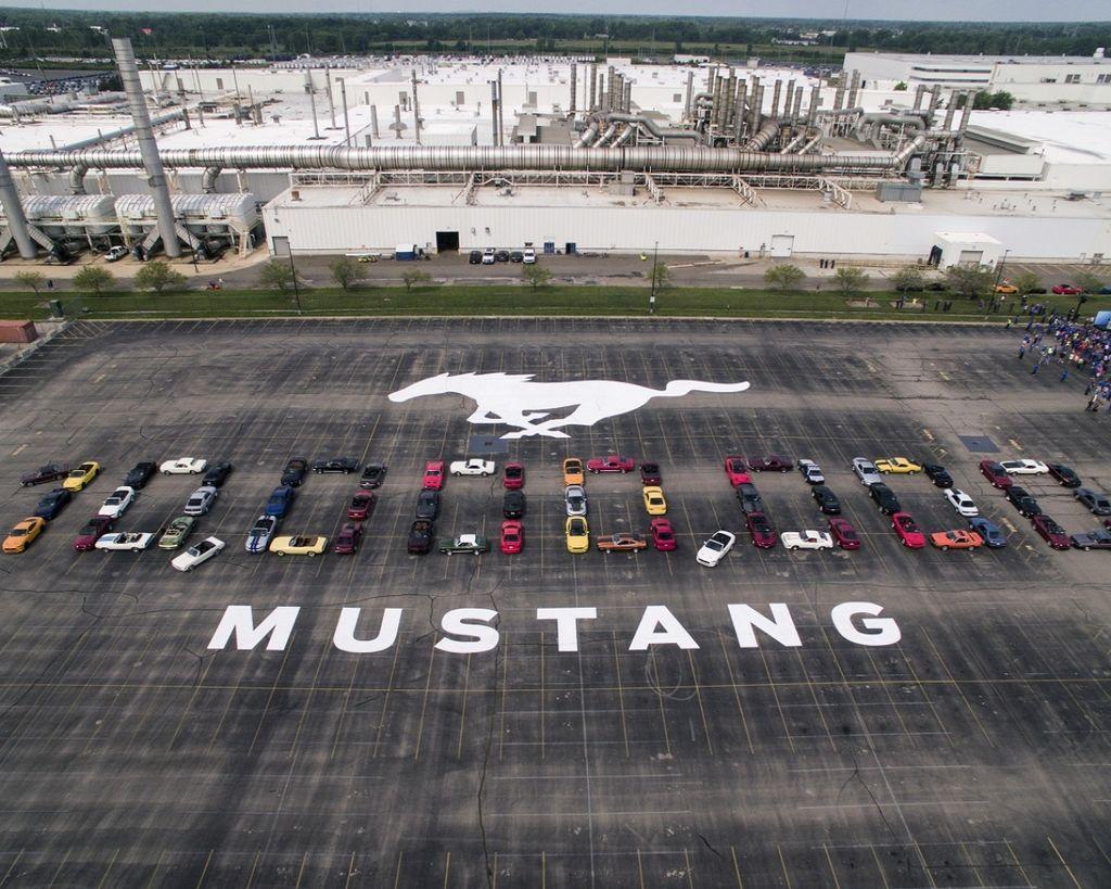 美式傳奇Ford Mustang第1,000萬輛誕生