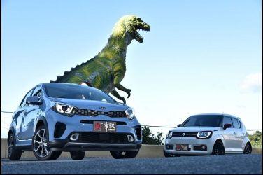 加大兒童餐(上) Kia Picanto X-Line vs. Suzuki Ignis