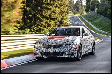 [影音] 全新大改款BMW 3 Series於紐柏林賽道測試的英姿