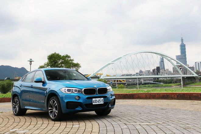 德國SUV轎跑 BMW X6 xDrive35i M Sport Edition試駕