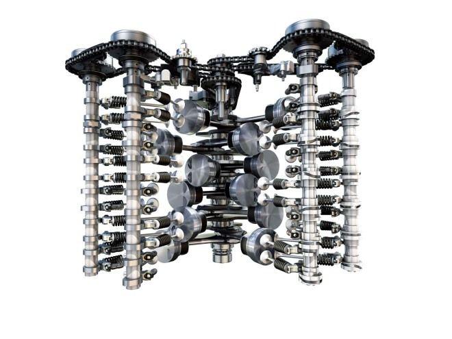 汽車規格大解讀-引擎排列型式:W型引擎
