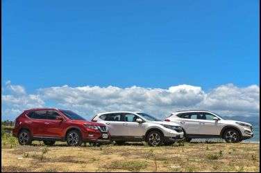挑戰國產霸主(中) Nissan X-Trail vs. Honda CR-V vs. Hyundai Tucson
