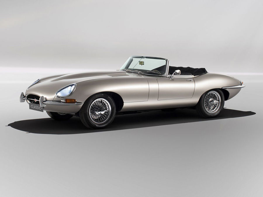 Jaguar將限量打造 E-Type Zero電動跑車