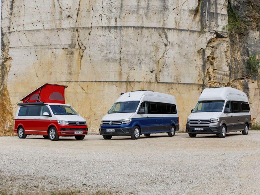 高檔露營族注意!VW推出三款全新露營車參加露營車展
