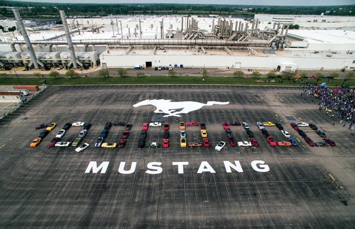 不敗經典    Ford Mustang