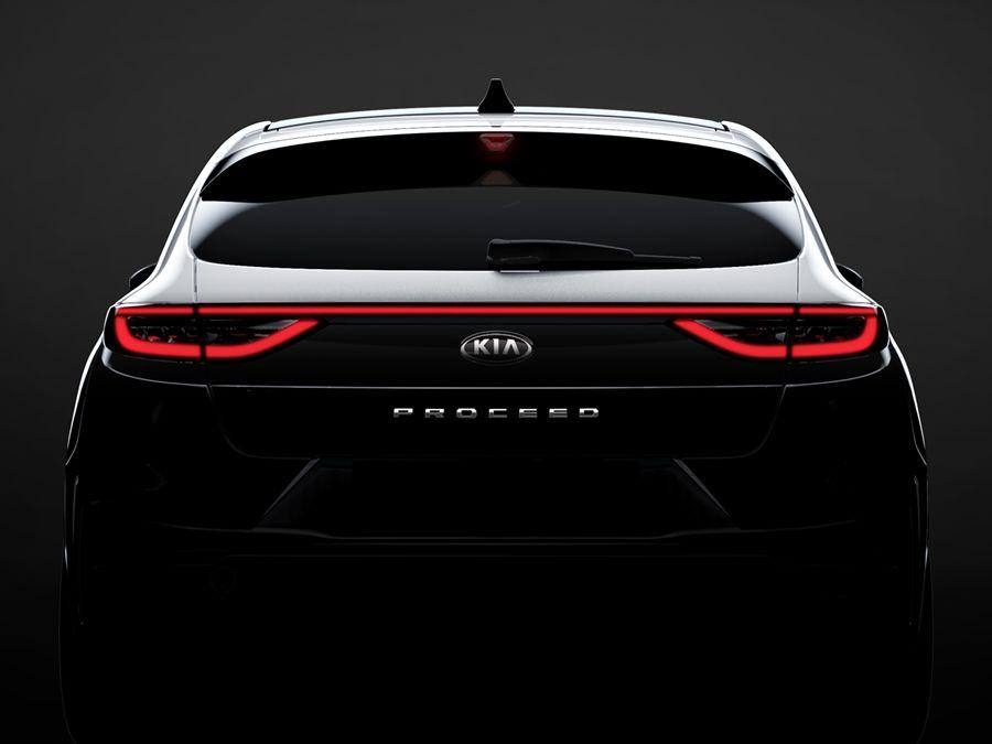 車尾已經夠迷人!Kia 發表Pro ceed首張局部廠照