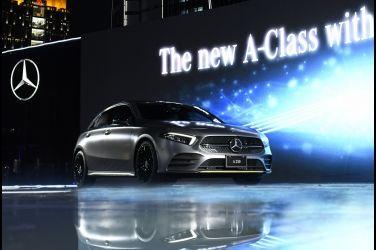 大改款Mercedes-Benz A-Class改很大  售價153萬元起 !!