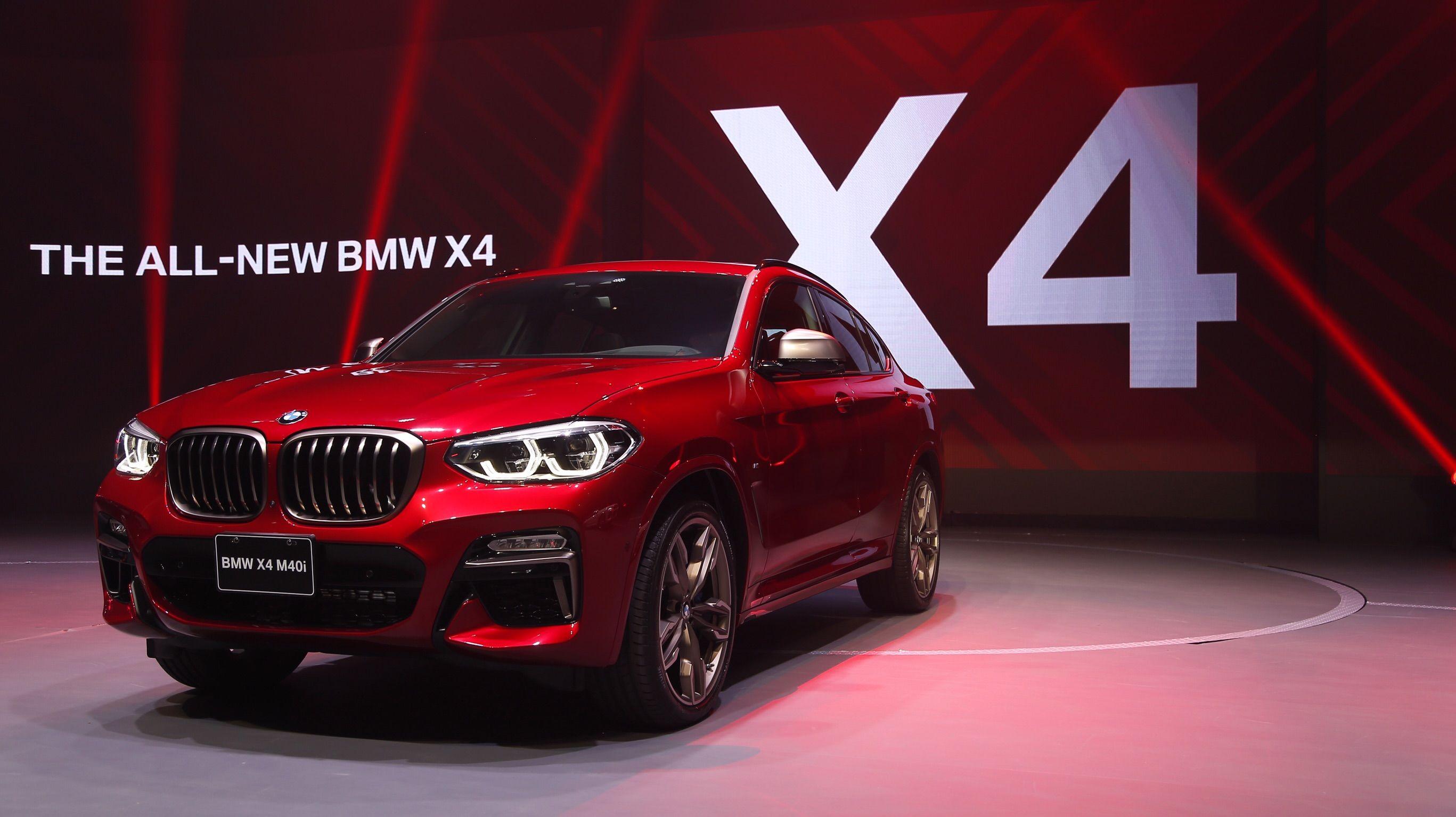 全新世代 BMW X4 跨界跑旅戰將正式登場