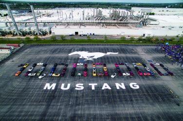 美式傳奇 Ford Mustang第1000萬部誕生